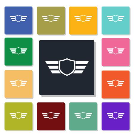 quickness: military badge icon
