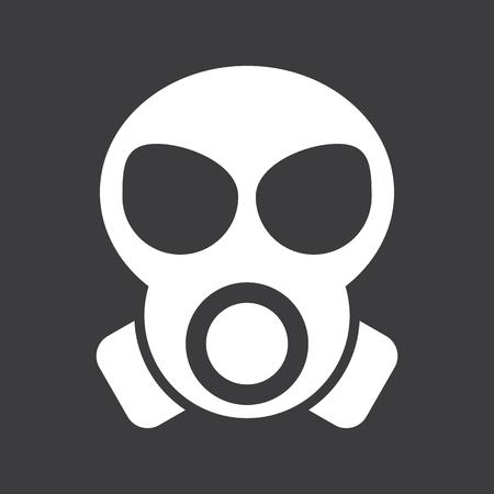 icono de máscara de gas