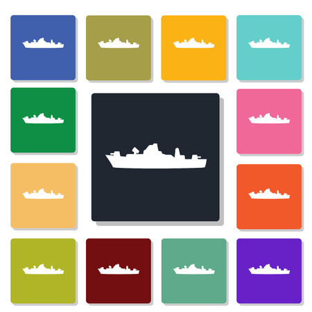 weaponry: warship icon