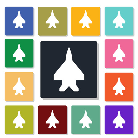 bomber plane: aircraft icon