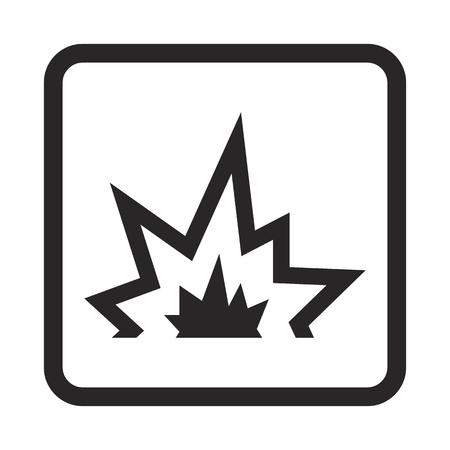 bombing: explosion icon