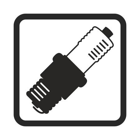 sparking plug: spark plug icon