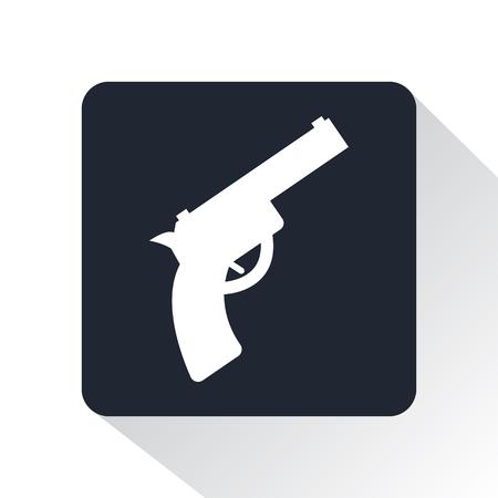 starting: starting gun icon Illustration