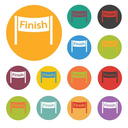 finish: finish icon