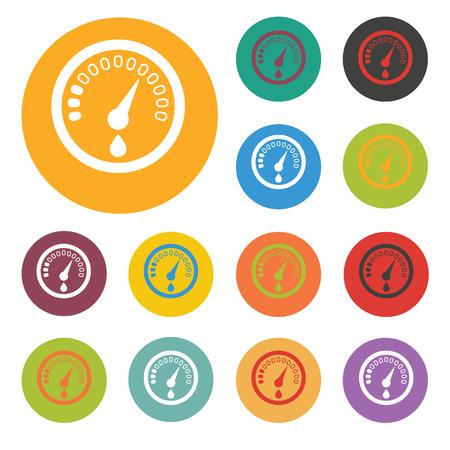 sensor: fuel sensor icon Illustration