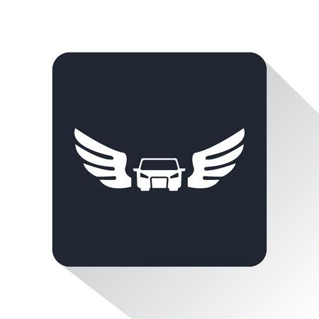 bolide: emblem car icon