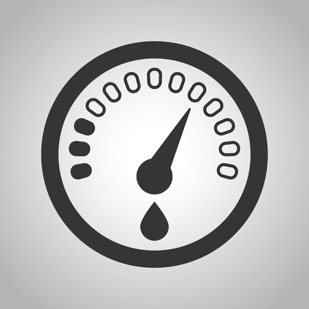 sensor: fuel sensor icon Illustration