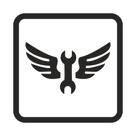 spanner: spanner icon Illustration