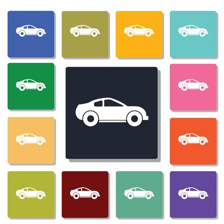 bolide: racing car icon