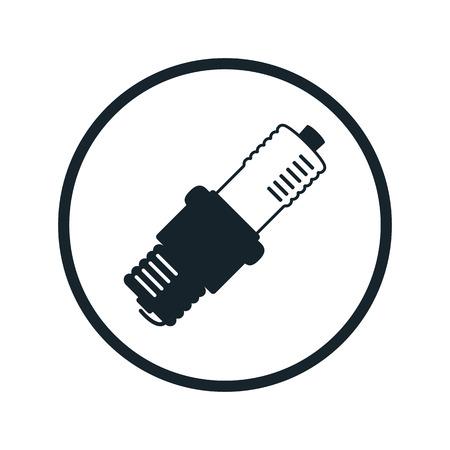 spark plug: spark plug icon