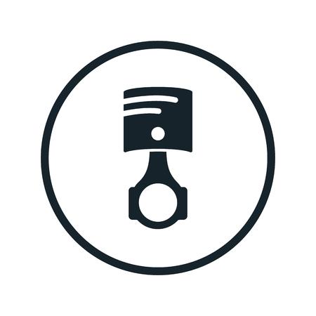 cilindro: icono de cilindro del automóvil