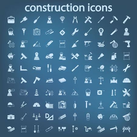 construction set icon Vettoriali