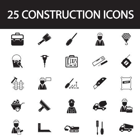 dismantle: construction set icon Illustration