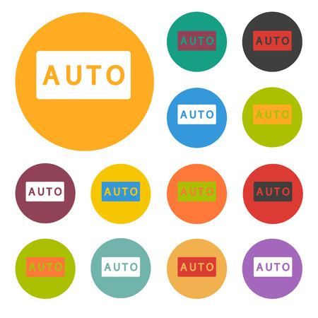 auto mode icon