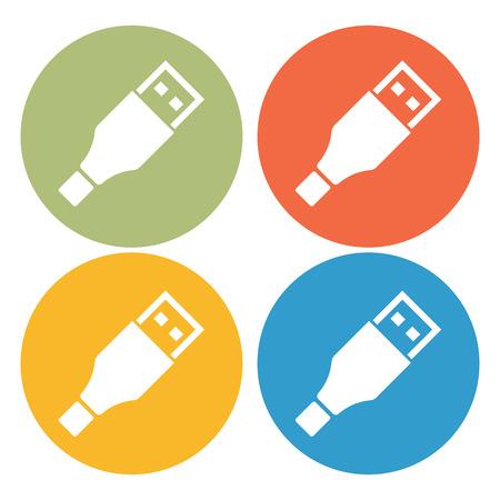 hdmi: usb wire icon