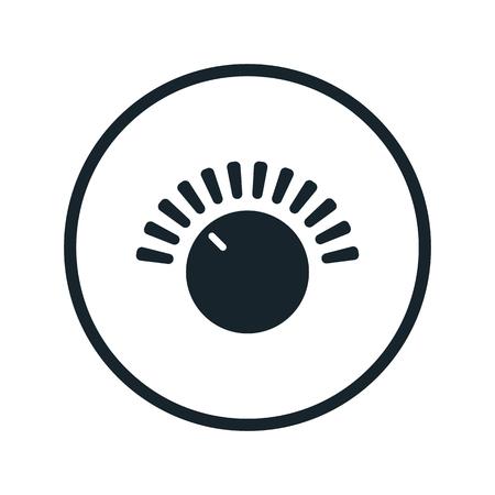 analog dial: settings button icon