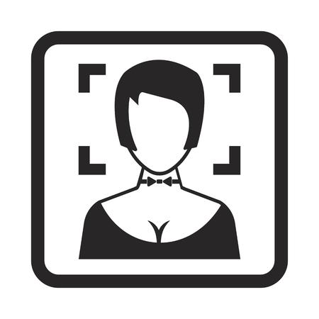 photo icon: focusing icon