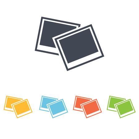 photo icon: photo icon Illustration