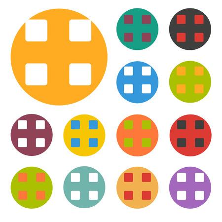web portal: options icon