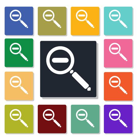 inquire: zoom minus icon