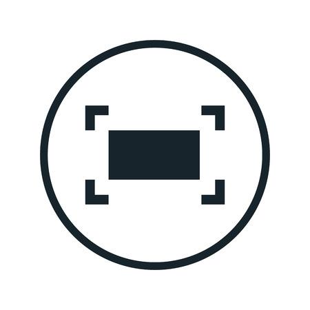 focusing: focusing icon