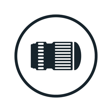 diopter: camera lens icon