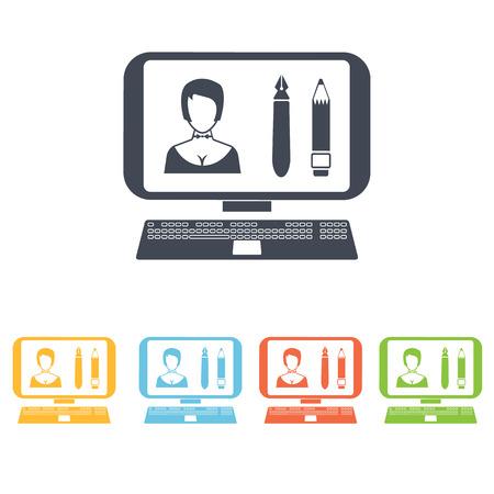 toolbar: edit photos icon Illustration