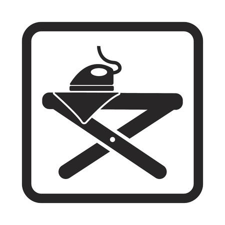 strijkplank pictogram