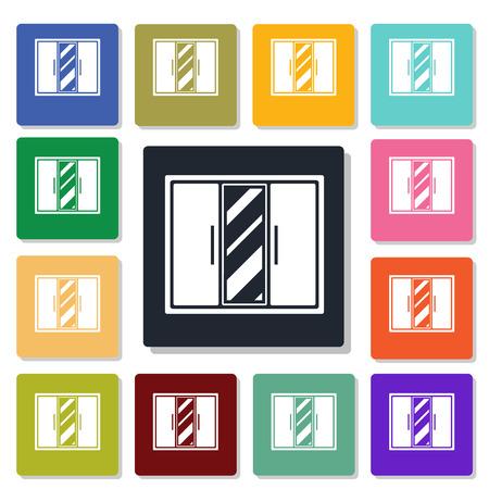 wardrobe: wardrobe icon