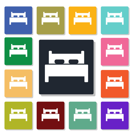 bed icon: bed icon