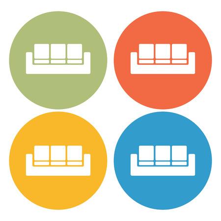 sofa: sofa icon