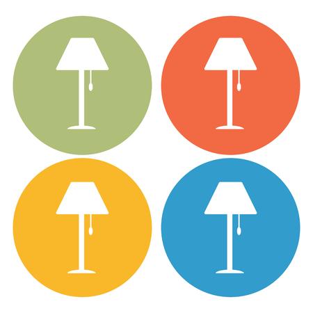 floor lamp: floor lamp icon