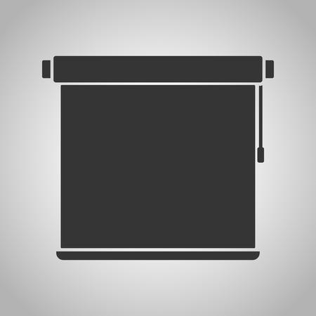 roller shutters: jalousie icon