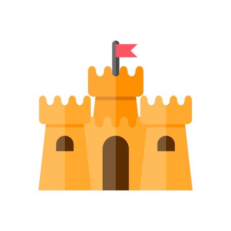 모래 성 아이콘