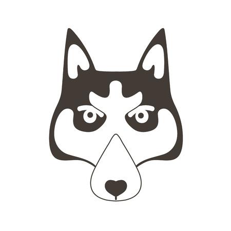 huskies: dog icon
