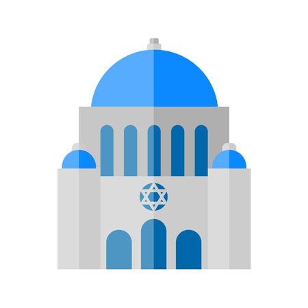 Synagogue icon Vektorové ilustrace
