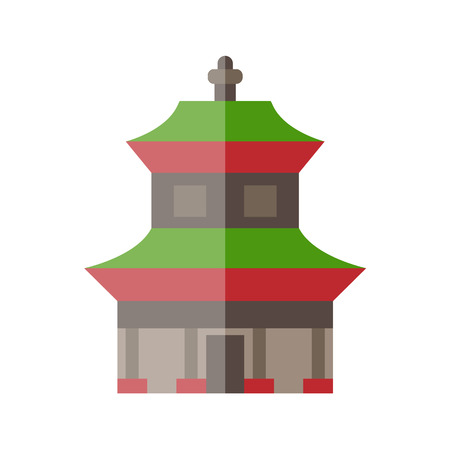 chinese temple: Chinese temple icon