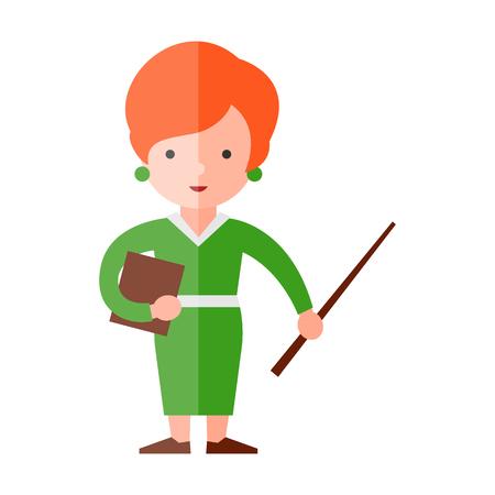 examiner: teacher flat icon