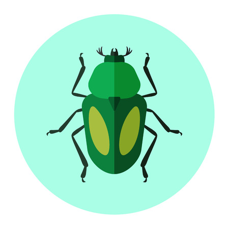 deer  spot: insects flat icon