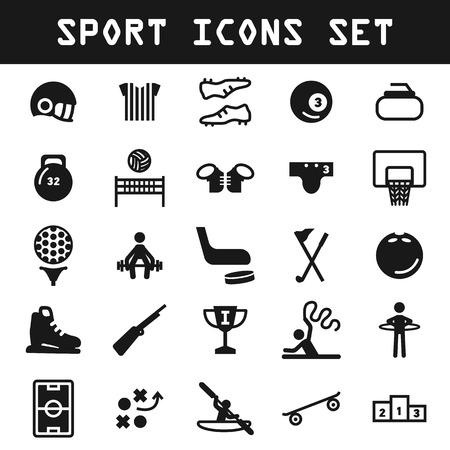 hurl: big sport icon set
