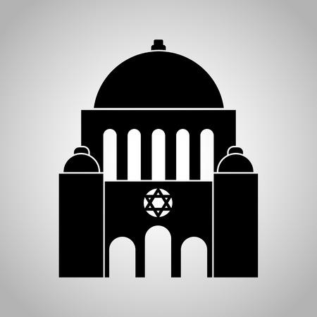 synagogue: Synagogue icon Illustration