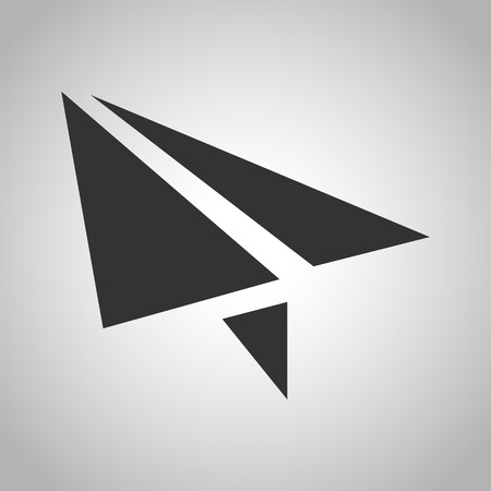 paper airplane: paper airplane icon