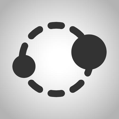 jupiter light: orbit icon
