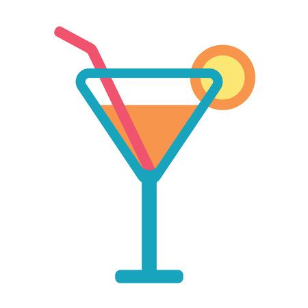 daiquiri alcohol: beach cocktail icon