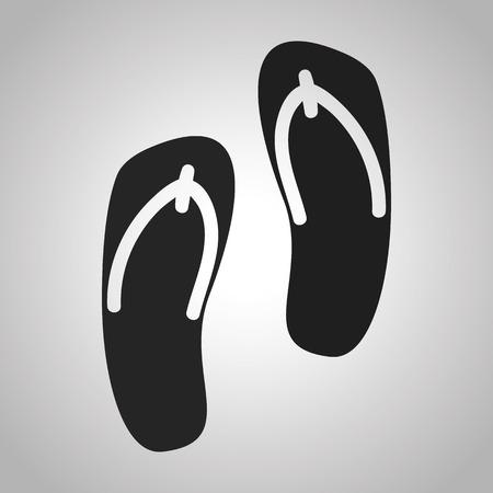 flops: flip flops icon