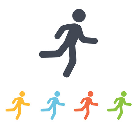 run icon Illustration