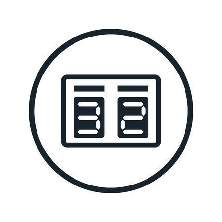 Anzeiger-Symbol Vektorgrafik