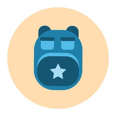 haversack: backpack icon