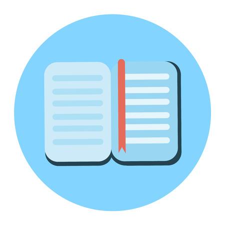 textbook: textbook icon Illustration