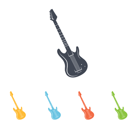 frets: electric guitar icon